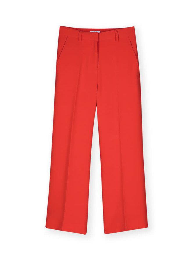 Tonska Trousers Tomato Red