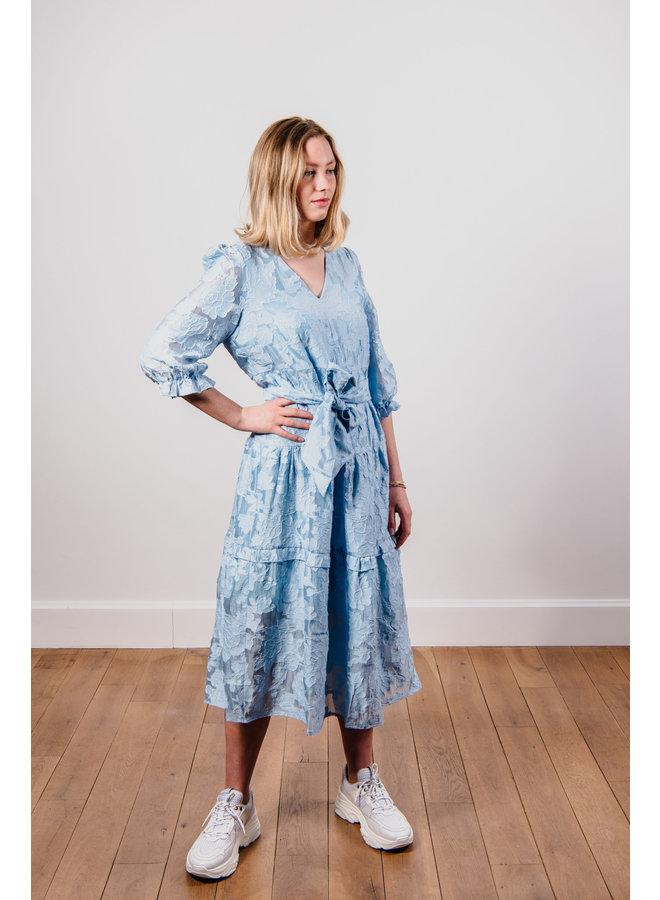 Slfsadie Midi Dress Blue