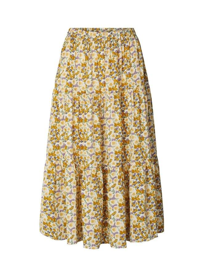 Morning Skirt Flower Print