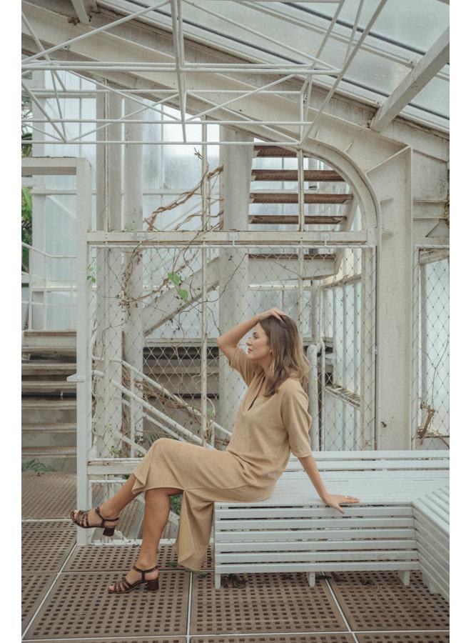Nona Tan Dress