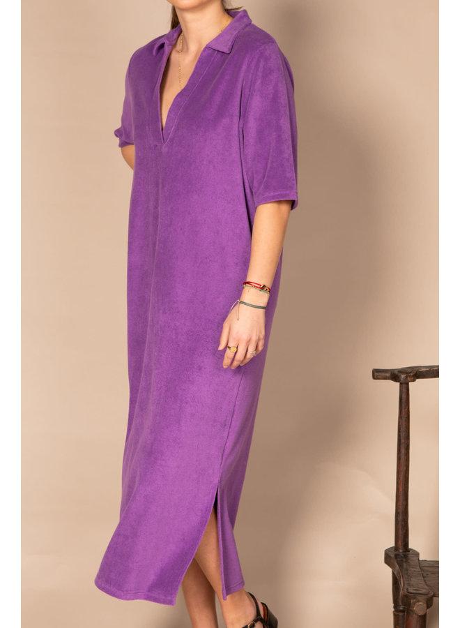 Nona Dark Purple Dress
