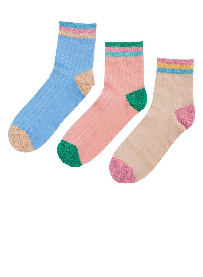 Numolly 3-pack Ancle Socks