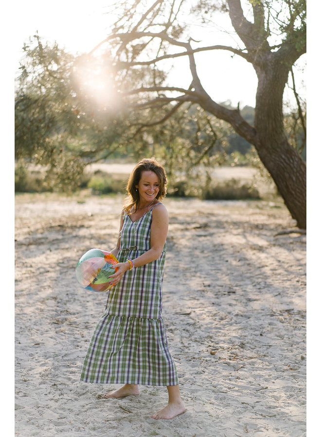 Louisa Dress Green