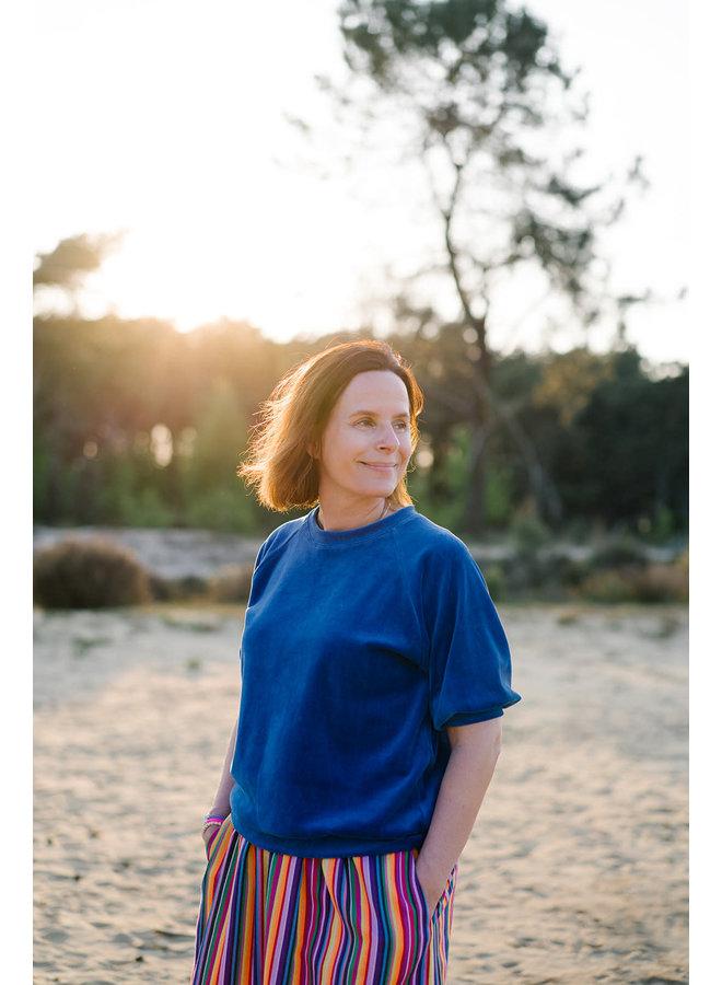 Mona Sweater Cobalt
