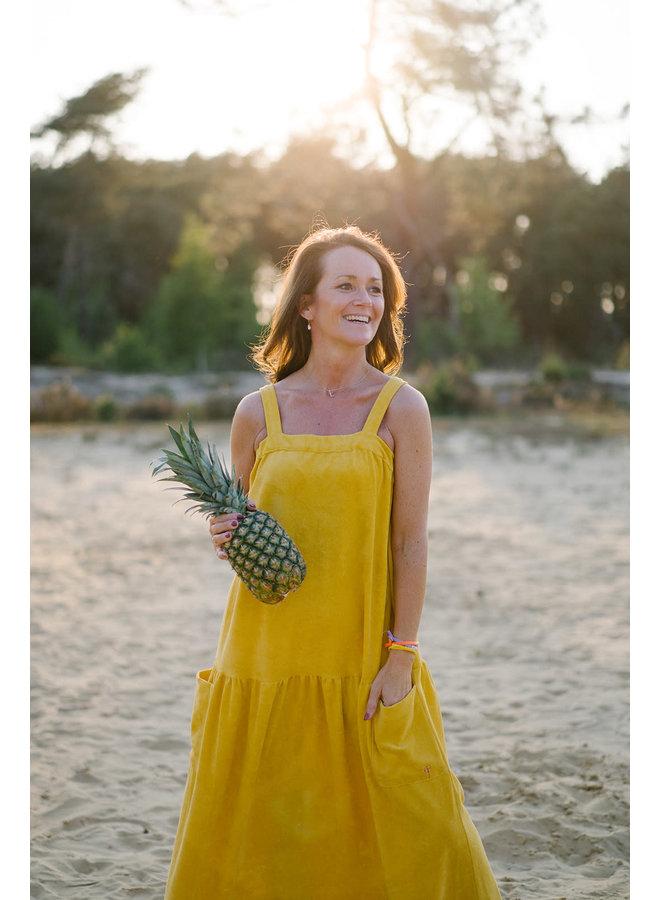 Nora Dress Yellow