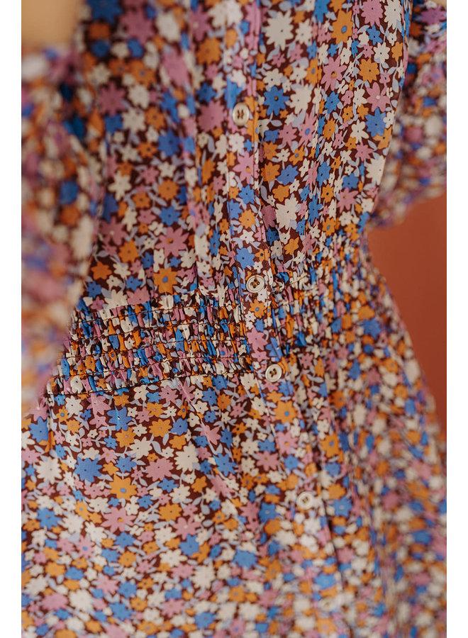 Amore Flower Smock Dress