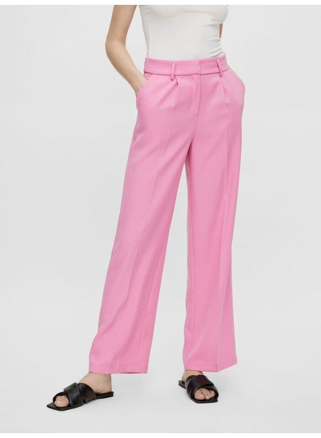 Yasserena HW Wide Pants Fushia Pink