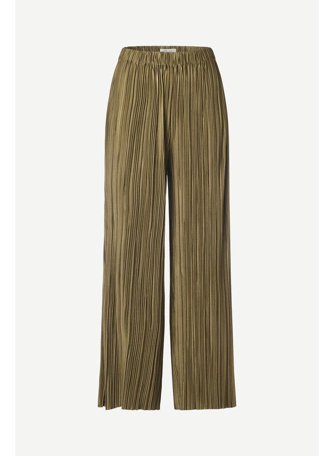 Uma Trousers Dark Olive