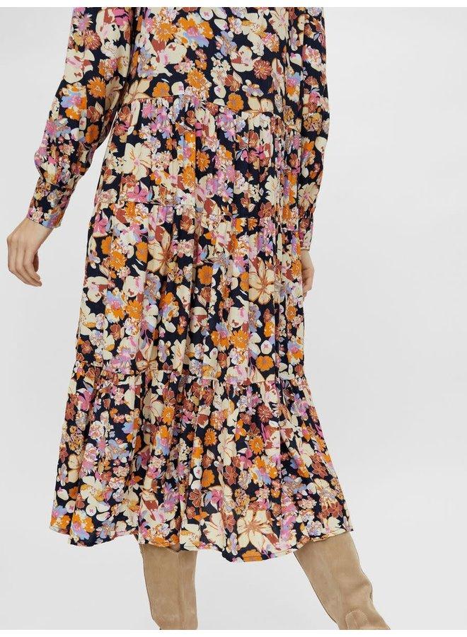 Yasnarnio Ls Midi Dress