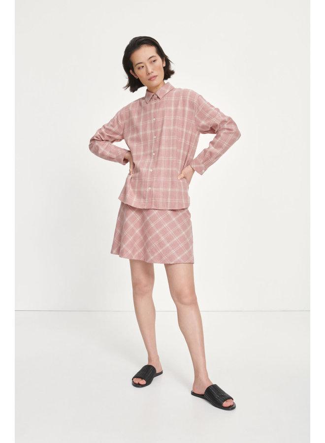 Keira Shirt Soft Pink Check