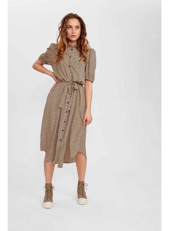 Nucecelia Shirt Dress Evening Sand