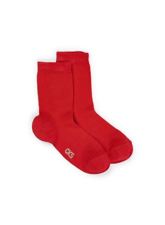 Dolly Socks Red