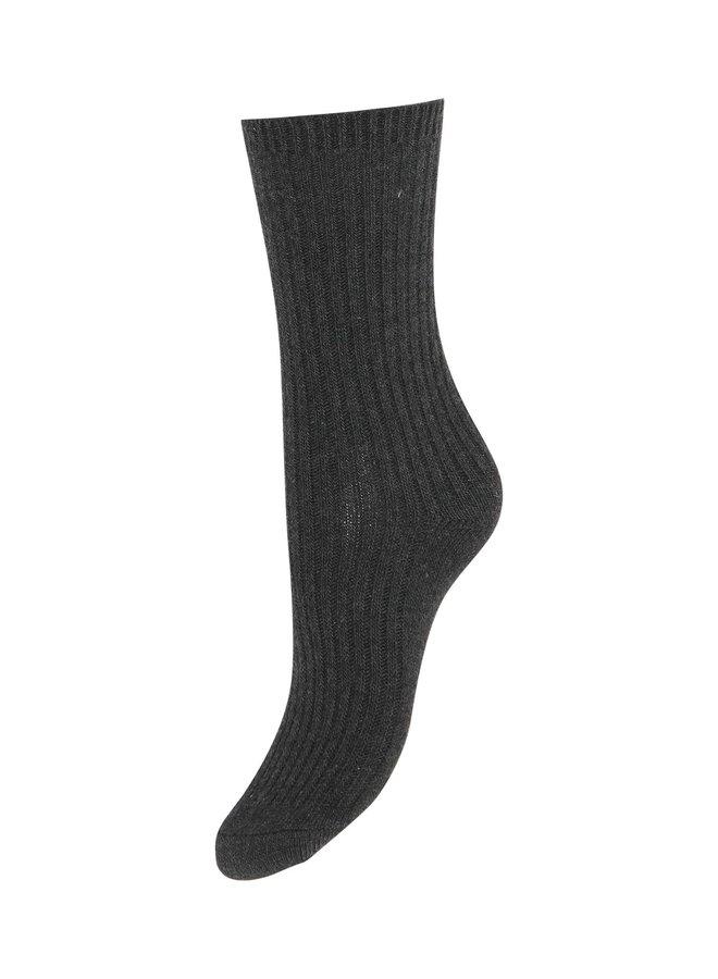 Iavistan Warm Socks Dark Grey Melange