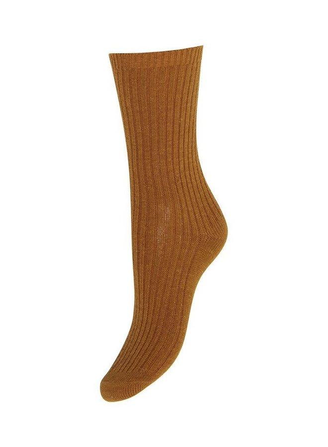 Iavistan Warm Socks Golden Brown