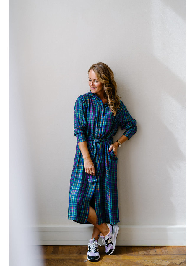 Isabella Dress Cobalt