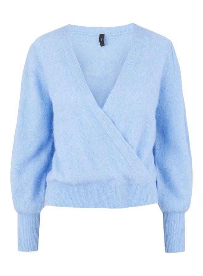 Yasvista Knit Pullover Vista Blue