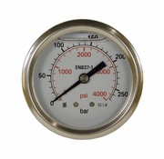 Manometer 0-160 HI 63 mm 1/4AG