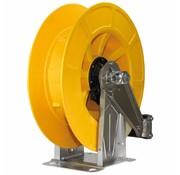 Slangoproller 21M. 1/2-1/2IG VA/ABS Geel