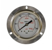 Inbouw manometer 0-250 bar