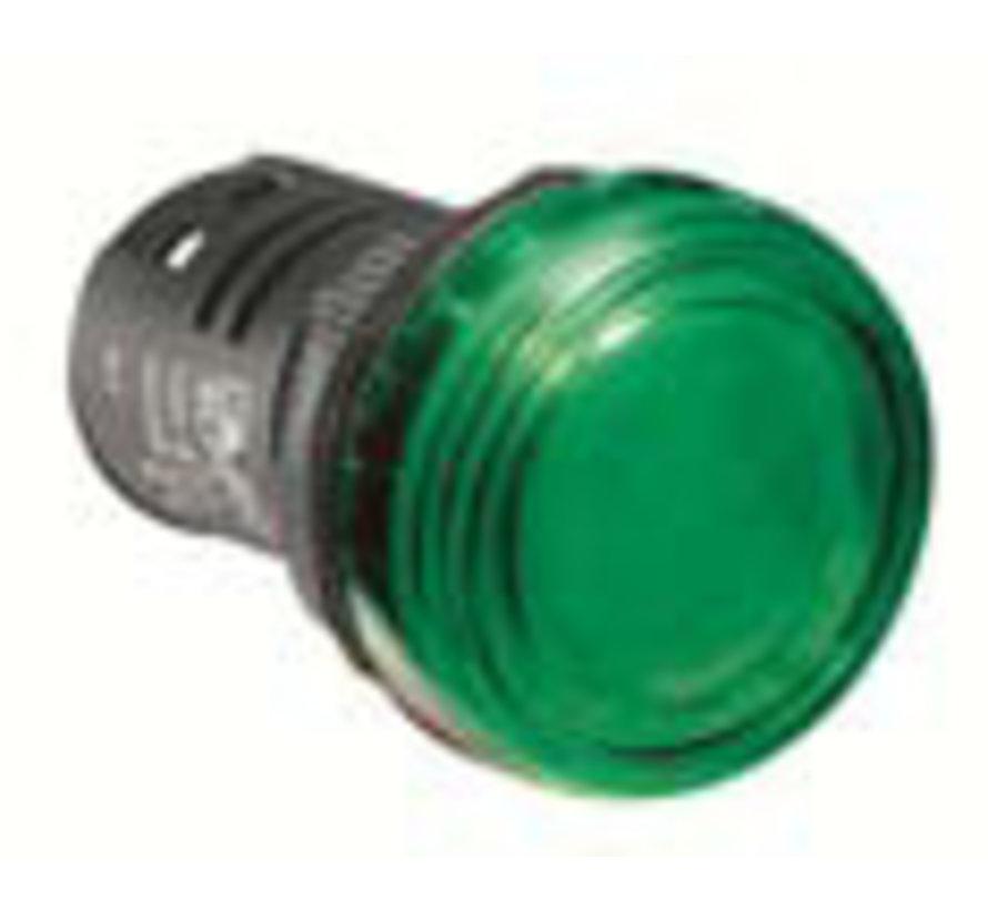 Lamp groen 24v