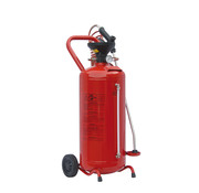 Sprayer 50 L. rood gelakt