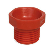 sproeiermof rood  PVC