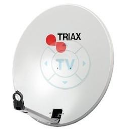 Triax Satellietschotel 110 cm 40.2 dB Grijs