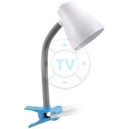 Ranex Desk Cliplamp Blauw