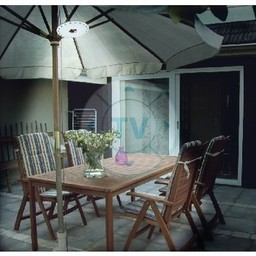 HQ LED Tuinlamp Wit / Grijs