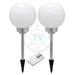 Ranex LED Solar Tuinlamp met Spies 4 LED 2