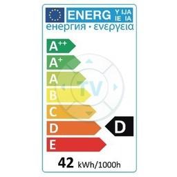 HQ Halogeenlamp E14 R50 42 W 375 lm 2800 K