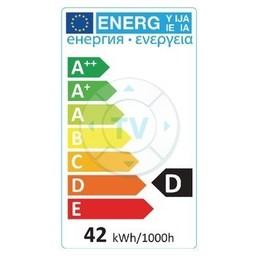 HQ Halogeenlamp E14 Bal 42 W 630 lm 2800 K