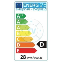 HQ Halogeenlamp E14 Bal 28 W 370 lm 2800 K
