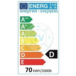 HQ Halogeenlamp B22 A55 70 W 1200 lm 2800 K