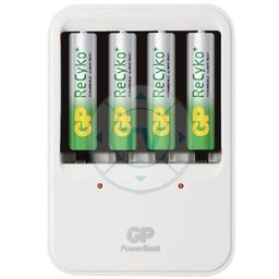 GP AA/AAA NiMH Batterij Lader 4x AAA/HR03 800 mAh
