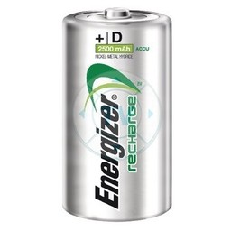 Energizer Oplaadbare NiMH Batterij D 1.2 V Power Plus 2500 mAh 2-Blister