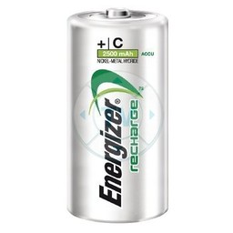Energizer Oplaadbare NiMH Batterij C 1.2 V Power Plus 2500 mAh 2-Blister