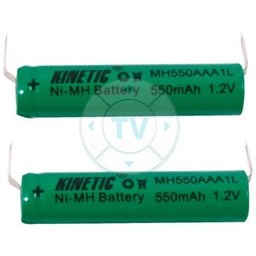 Kinetic Oplaadbare NiMH Batterij Pack 1.2 V 550 mAh 1-Pack