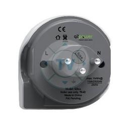 Q2 Power Reisadapter Wereld-naar-Zwitserland Geaard