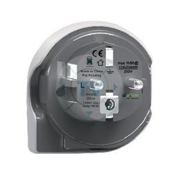 Q2 Power Reisadapter Wereld-naar-Europa Geaard