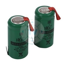 HQ Oplaadbare NiMH Batterij Pack 1.2 V 600 mAh 1-Pack
