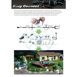 Easy Connect LED Grond Spot 4 W 3000 K