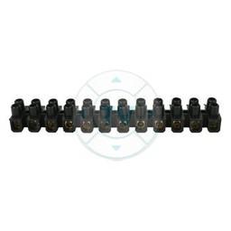 Fixapart Kroonsteen 3.1 mm² 12 - Polig Kunststof Zwart
