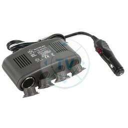 HQ Universele DC Stroom Adapter 12 VDC / 5 VDC 1.0 A Auto / USB