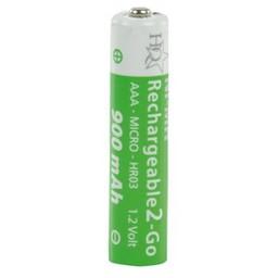 HQ Batterij NiMH AAA/LR03 1.2 V 900 mAh R2GO 4-blister