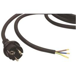Fixapart Stroomkabel H07RN-F 3G1.5 3.00 m Schuko / Type F (CEE 7/7) Zwart