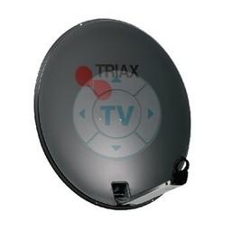 Triax Satellietschotel 64 cm 35.8 dB Antraciet