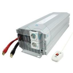 HQ Gemodificeerde Sinus Omvormer 12 VDC - AC 230 V 4000 W F (CEE 7/3)
