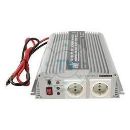 HQ Gemodificeerde Sinus Omvormer 12 VDC - AC 230 V 1000 W F (CEE 7/3)