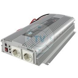 HQ Gemodificeerde Sinus Omvormer 24 VDC - AC 230 V 1700 W F (CEE 7/4)